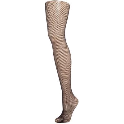 Colanti Jonathan Aston Vintage legs fishnet negru