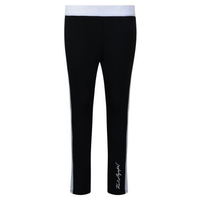 Colanti Karl Lagerfeld Logo pentru fete negru 09b