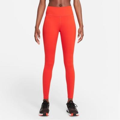 Colanti Nike One pentru Femei rosu negru