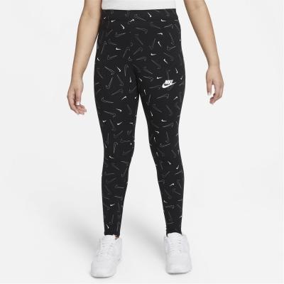 Colanti Nike Sportswear Favorites Big () Printed pentru fete pentru Copii negru
