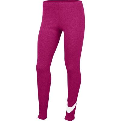 Colanti Nike Swoosh pentru fetite rosu