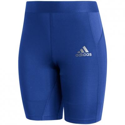 Colanti scurti Adidas Techfit albastru GU4915 pentru Barbati