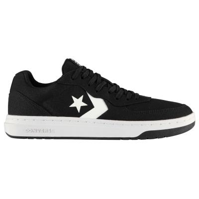 Adidasi sport Converse Ox Rival Canvas negru alb