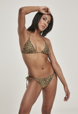 Costum baie animal print pentru Femei leopard Urban Classics