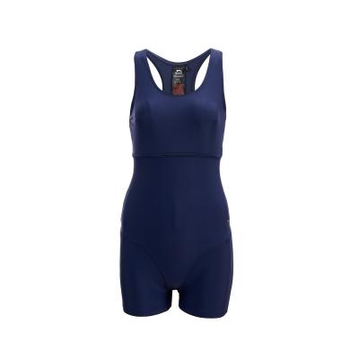 Costum de baie intreg cu pantaloni scurti Slazenger pentru Femei bleumarin