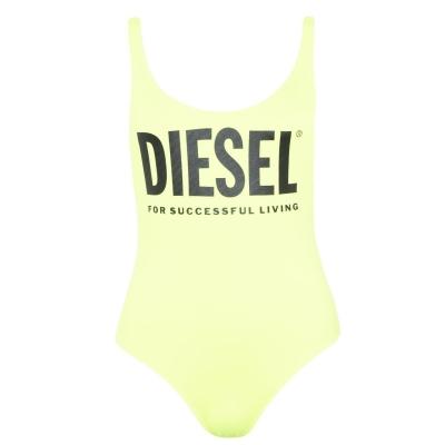 Costum de Inot Diesel Logo galben 5at
