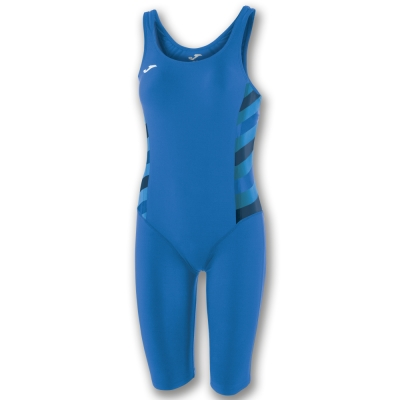 Costum de Inot Joma Leg bleumarin-royal pentru Femei
