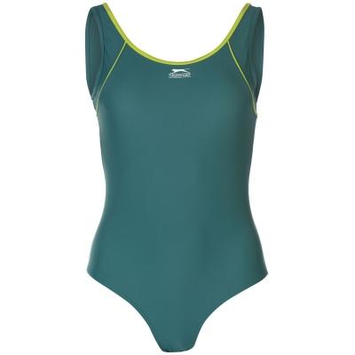 Costum de Inot Slazenger Basic pentru Femei verde
