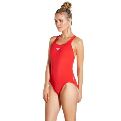Costum de Inot Speedo Medalist pentru Femei fed rosu
