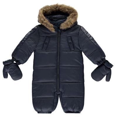 Costum de zapada Firetrap Luxury Bubble pentru baieti pentru Bebelusi bleumarin