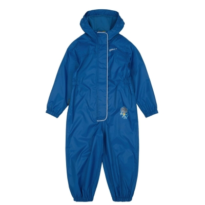Costum impermeabil copii Gelert albastru
