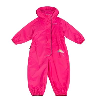 Costum impermeabil copii Gelert roz