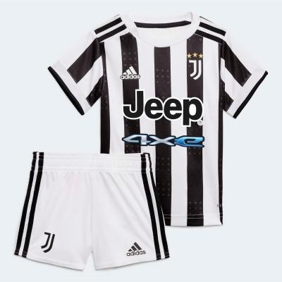 Costumase bebelusi cu echipe fotbal adidas Juventus 2021 2022 alb negru