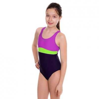 Costume Aqua-Speed Emily violet-lime 48 367 copii