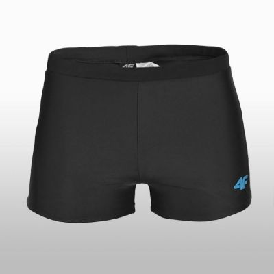 Boxeri de baie 4F negru Barbati