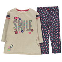 Crafted Two Piece Smile Set Child pentru fete