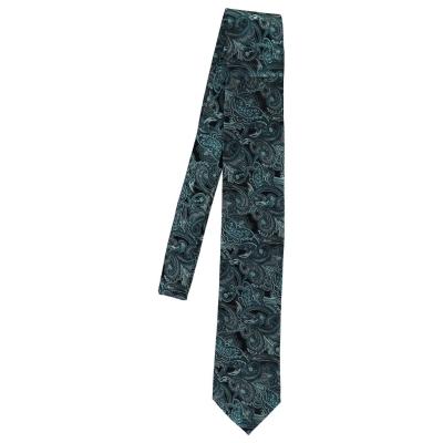 Tresanti Cravata lunga pentru Barbati paisley bleu