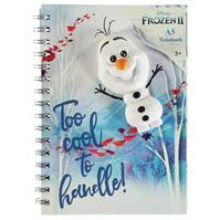 cu personaje Frozen 2 A5 Notebook