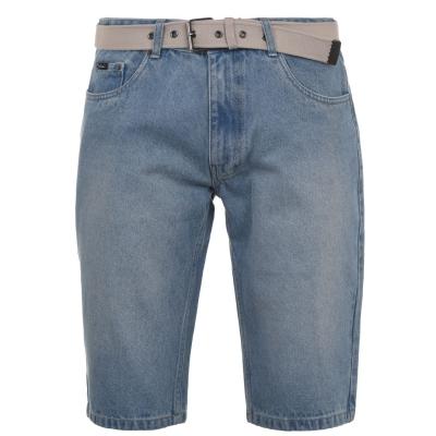 Curea Pantaloni scurti blugi Pierre Cardin Web pentru Barbati deschis albastru