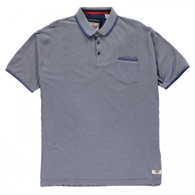 Tricouri Polo D555 Corey Melange pentru Barbati albastru
