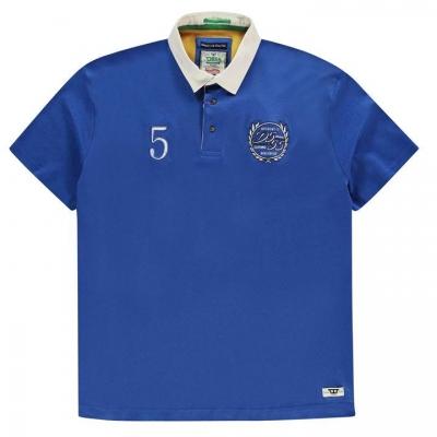 Camasa maneca scurta D555 Judd Rugby pentru Barbati albastru roial