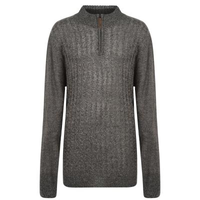 Bluza cu Fermoar D555 Louie tricot pentru Barbati