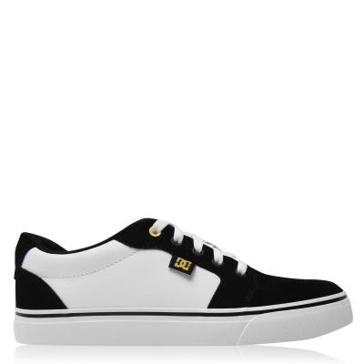 Skate Shoes DC Anvil 2.0 pentru Barbati alb negru
