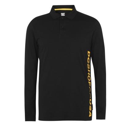 Tricouri Polo DC Logo negru
