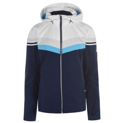 Jacheta Descente Rowan pentru femei alb albastru