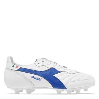 Diadora Brasil Italy pentru barbati alb albastru