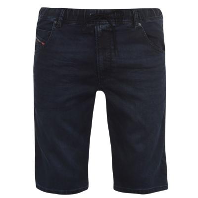 Pantaloni scurti Blugi Diesel Jogg Kroo albastru 069mg