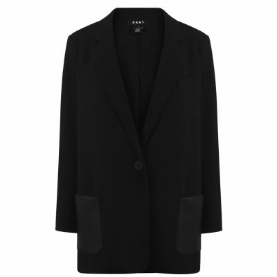 DKNY buzunar pieleBlazer negru