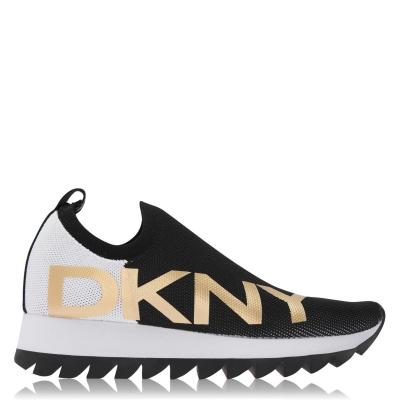 DKNY DKNY Azer SlipOnTrnr Ld14 negru alb
