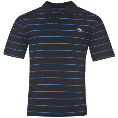 Tricouri polo cu dungi Dunlop pentru Barbati