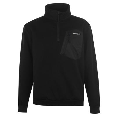 Dunlop tricot quarter cu fermoar pentru Barbati negru