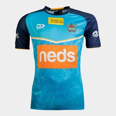 Tricou Dynasty Sport Gold Coast Titan pentru Barbati bleumarin albastru