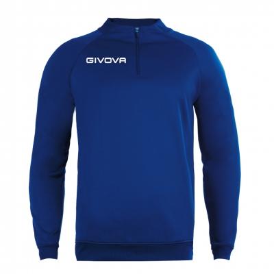 Echipament antrenament MAGLIA TECNICA (fermoar) 500 Givova albastru