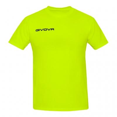 Tricou Echipament casual sport FRESH Givova galben fosforescent