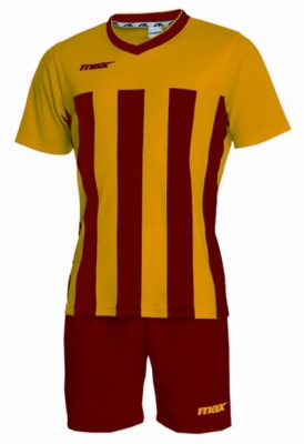 Echipament fotbal Elegant Giallo Rosso Max Sport