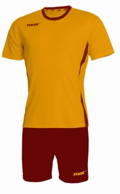 Echipament fotbal Fresh Giallo Rosso Max Sport