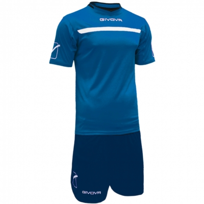 Echipament fotbal KIT ONE Givova albastru