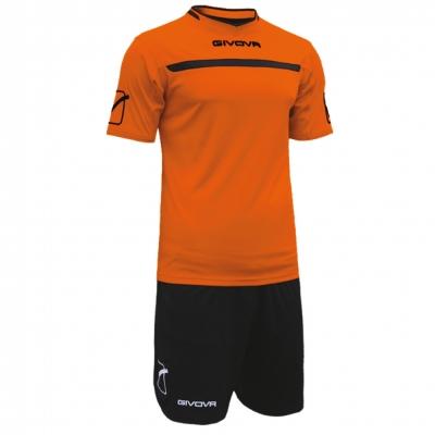 Echipament fotbal KIT ONE Givova portocaliu negru