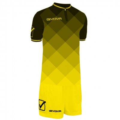 Echipament fotbal KIT SHADE Givova negru galben