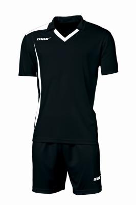 Echipament fotbal Monviso Nero Bianco Max Sport