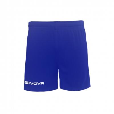 Echipament fotbal PANTALONCINO CAPO Givova albastru