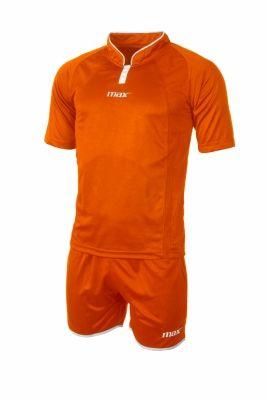 Echipament fotbal Parigi Arancio Bianco Max Sport