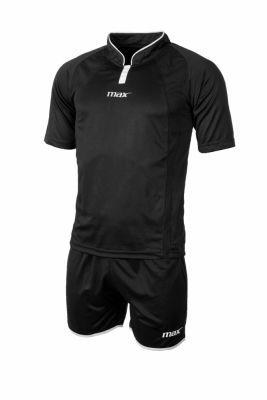 Echipament fotbal Parigi Nero Bianco Max Sport