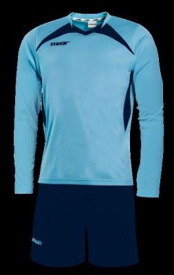 Echipament fotbal Sun Sky Blu Max Sport