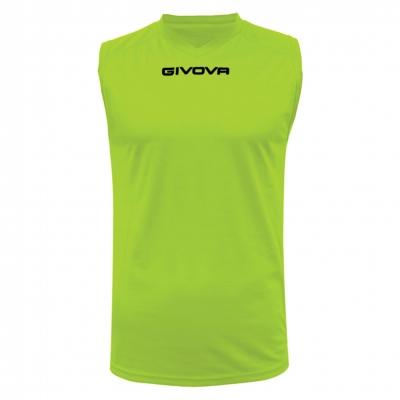 Echipament pentru alergare SHIRT SMANICATO GIVOVA ONE Givova galben fosforescent