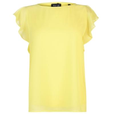 Emme Emme Navetta Top pentru femei galben
